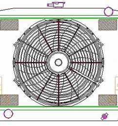 1976 1978 ford mustang ii griffin radiators cu 00113 [ 1500 x 1270 Pixel ]