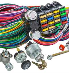 jegs universal wiring harness switch kit 20 circuit jegs 10405k [ 1500 x 899 Pixel ]