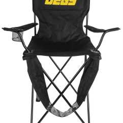 Tall Folding Chairs Yellow Club Chair Jegs 2003 Black With Logo