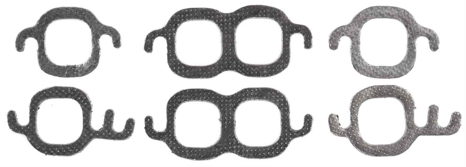 JEGS 210058 Exhaust Header Gaskets 1956-1998 Small Block