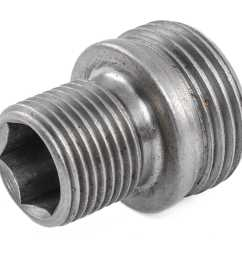 jegs oil filter adapter 1986 96 ford 302 351w [ 1500 x 1500 Pixel ]