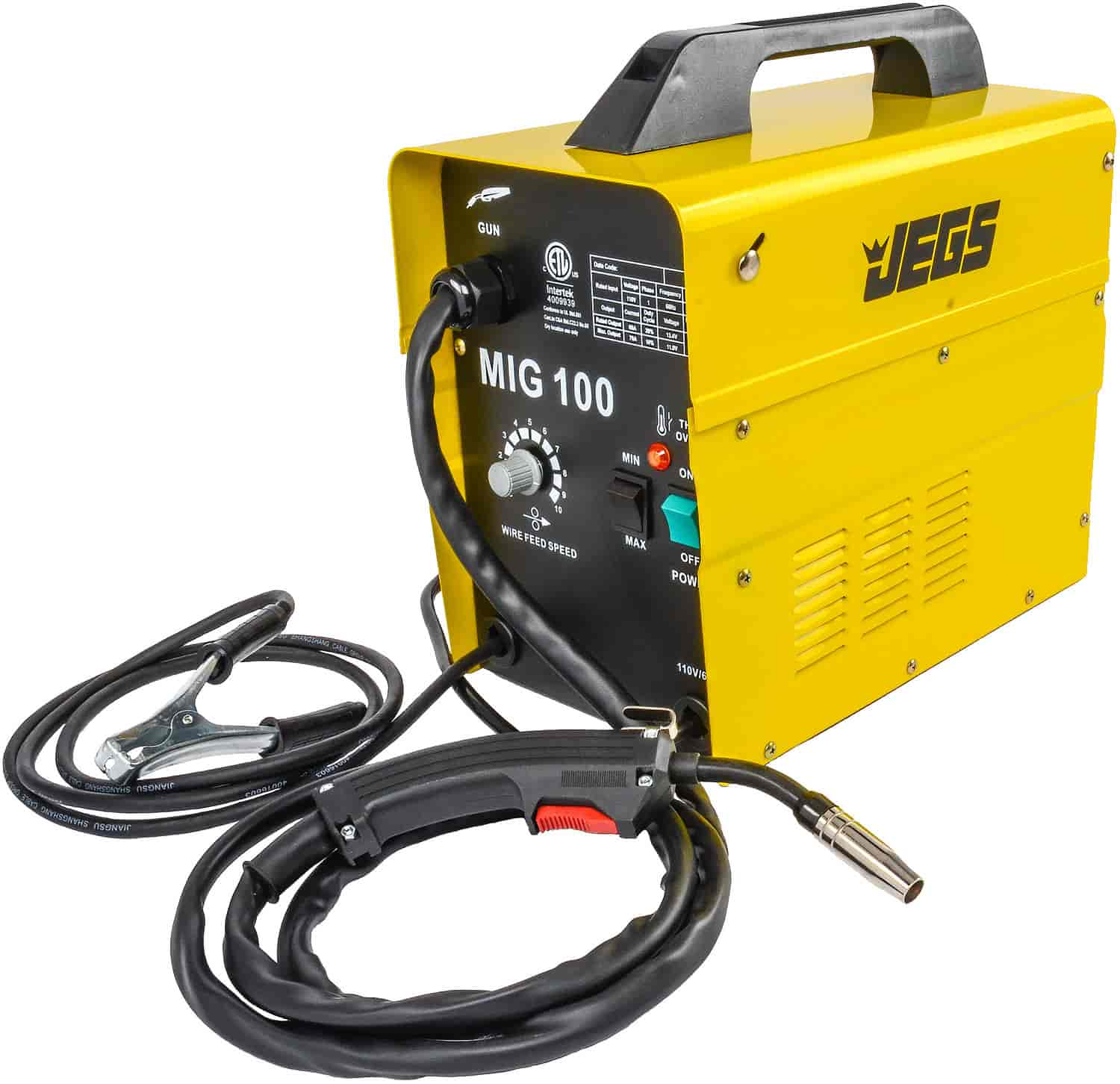 jegs mig 100 gasless