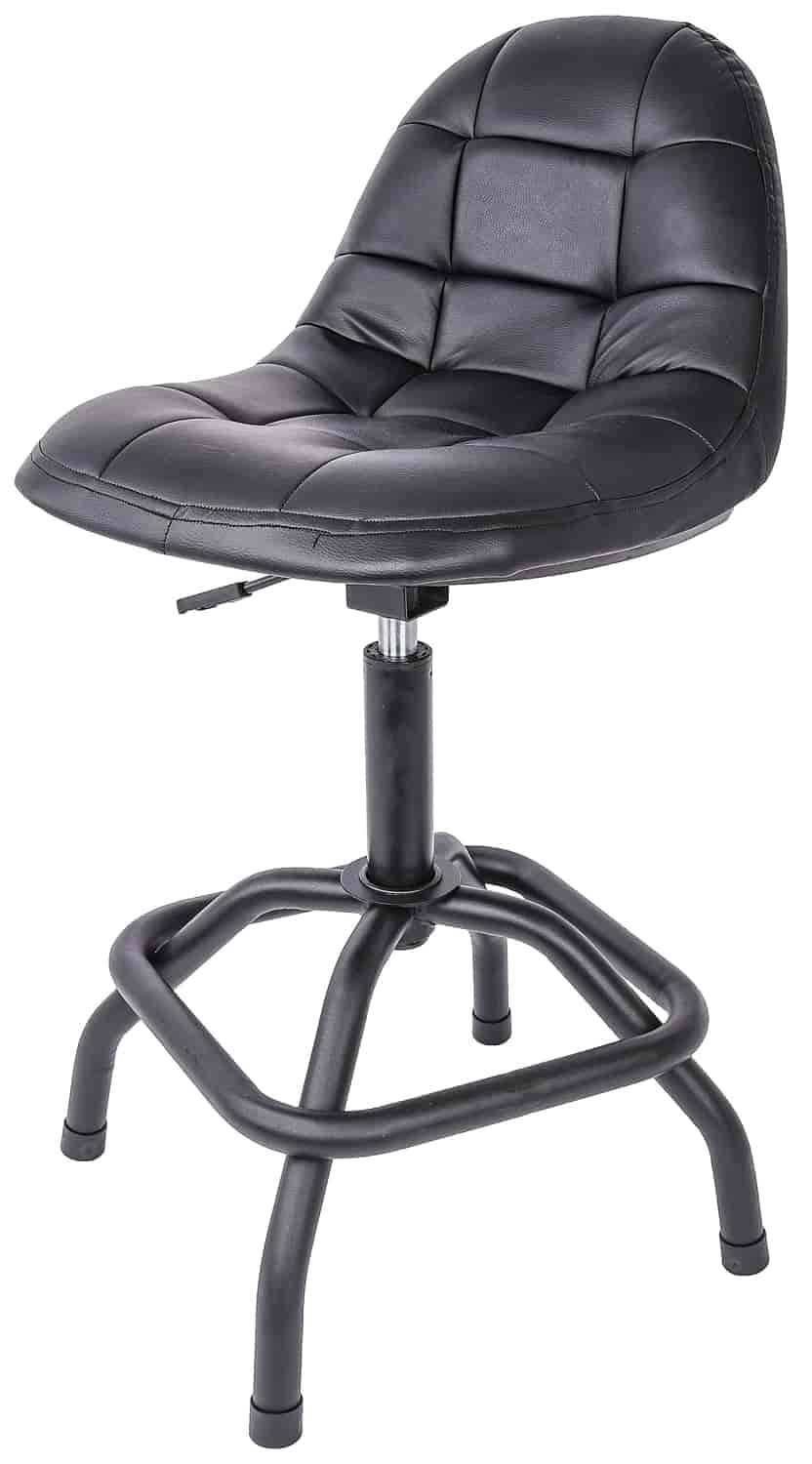 Jegs W85031 High Back Pneumatic Shop Stool Jegs