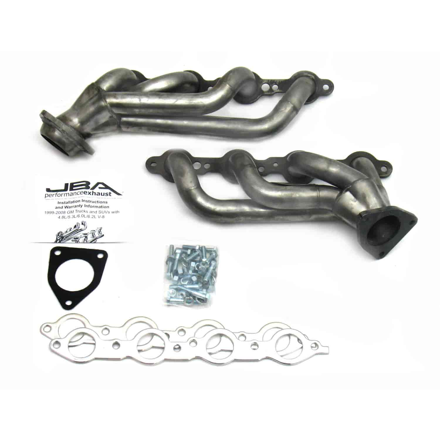 Jba S 2 Shorty Headers Gm Truck Suv 4 3l 5