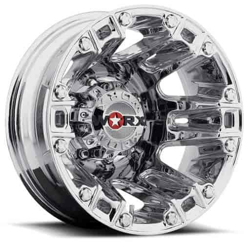 Ultra Wheel 803 7692rc Rear Beast Chrome Dually Wheel