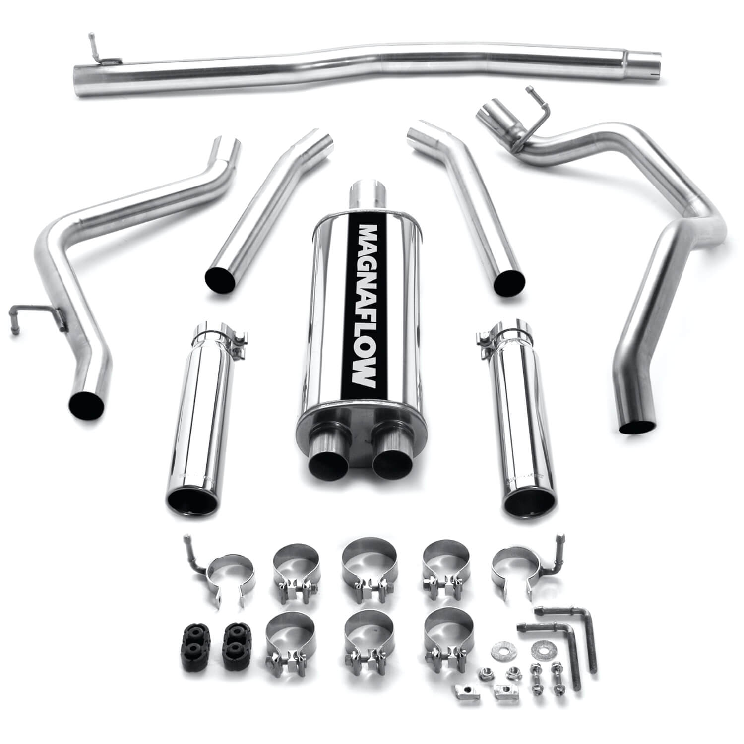 Magnaflow Mf Series Cat Back Exhaust System 08