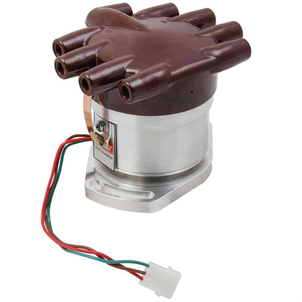 medium resolution of mallory 3772001 mechanical advance unilite distributor 1946 1948 ford 289 coil wiring 1946 ford distributor wiring