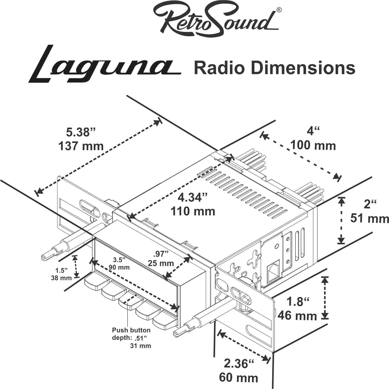 RetroSound LABM11101120 [LAB-M1-110-112-291-04-71]: Laguna