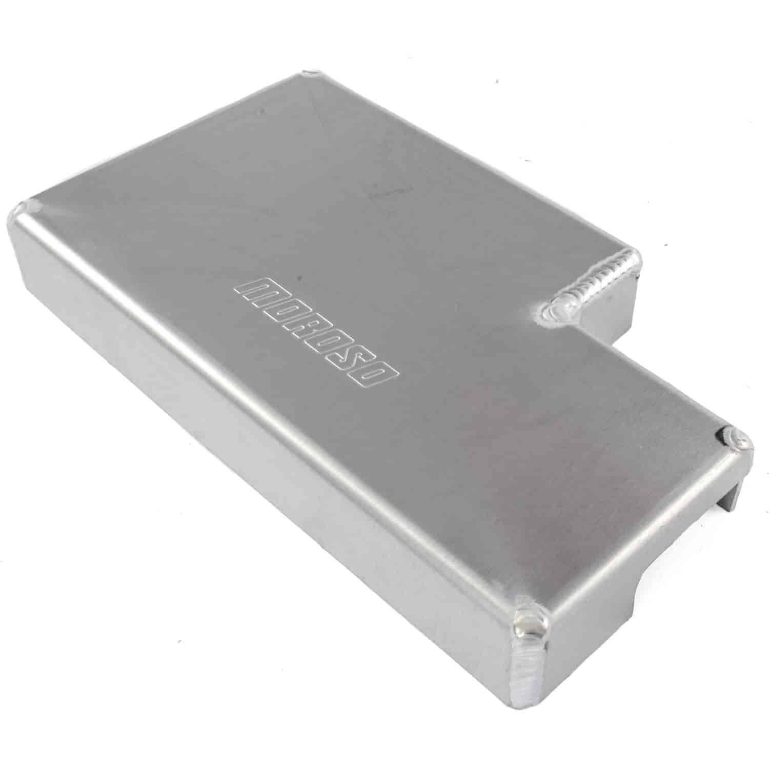 hight resolution of moroso aluminum fuse box cover 2015 up mustang gt ecoboost v6 moroso 74255