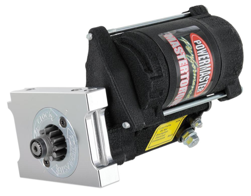 medium resolution of powermaster mastertorque starter small block chevy powermaster 9600
