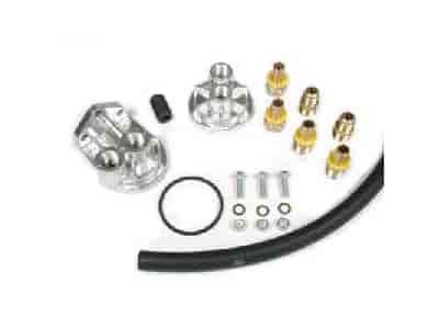 Mr Gasket 7680: Remote Single Oil Filter Kit Fits Buick