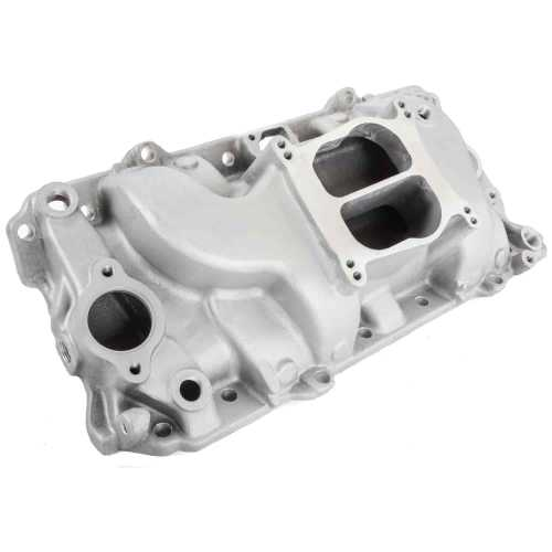 small resolution of speedmaster pce147 1031 holeshot oval port intake manifold 1965 90 bbc 454 jegs