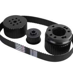 speedmaster pce415 1035 gilmer long water pump drive kit bbc 396 454 jegs [ 1500 x 1500 Pixel ]