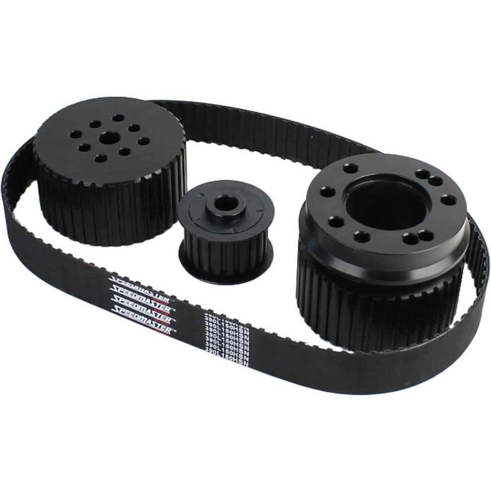 medium resolution of speedmaster pce415 1035 gilmer long water pump drive kit bbc 396 454 jegs