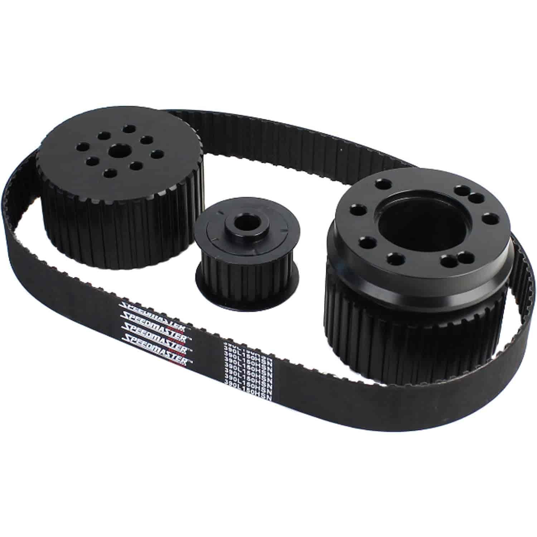 hight resolution of speedmaster pce415 1035 gilmer long water pump drive kit bbc 396 454 jegs