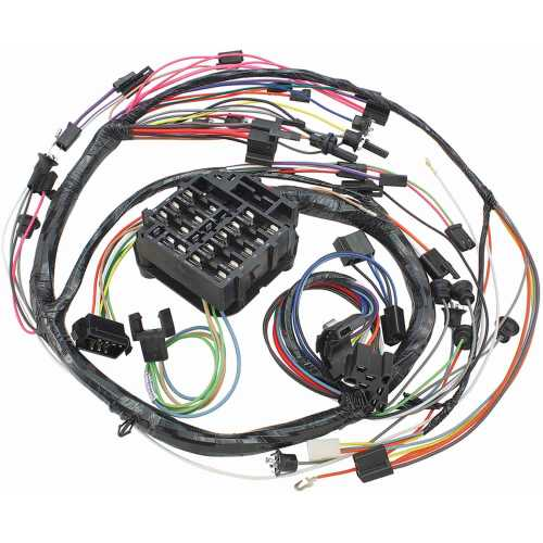 small resolution of el camino wiring harness images gallery