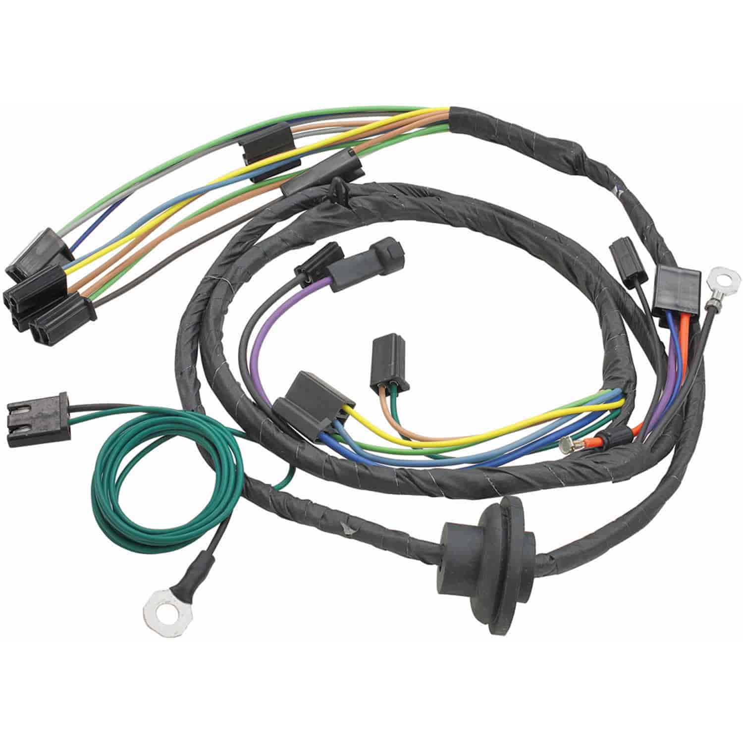 hight resolution of restoparts 14965 wiring harness air conditioning 1970 chevelle el 1970 el camino rear end restoparts wiring