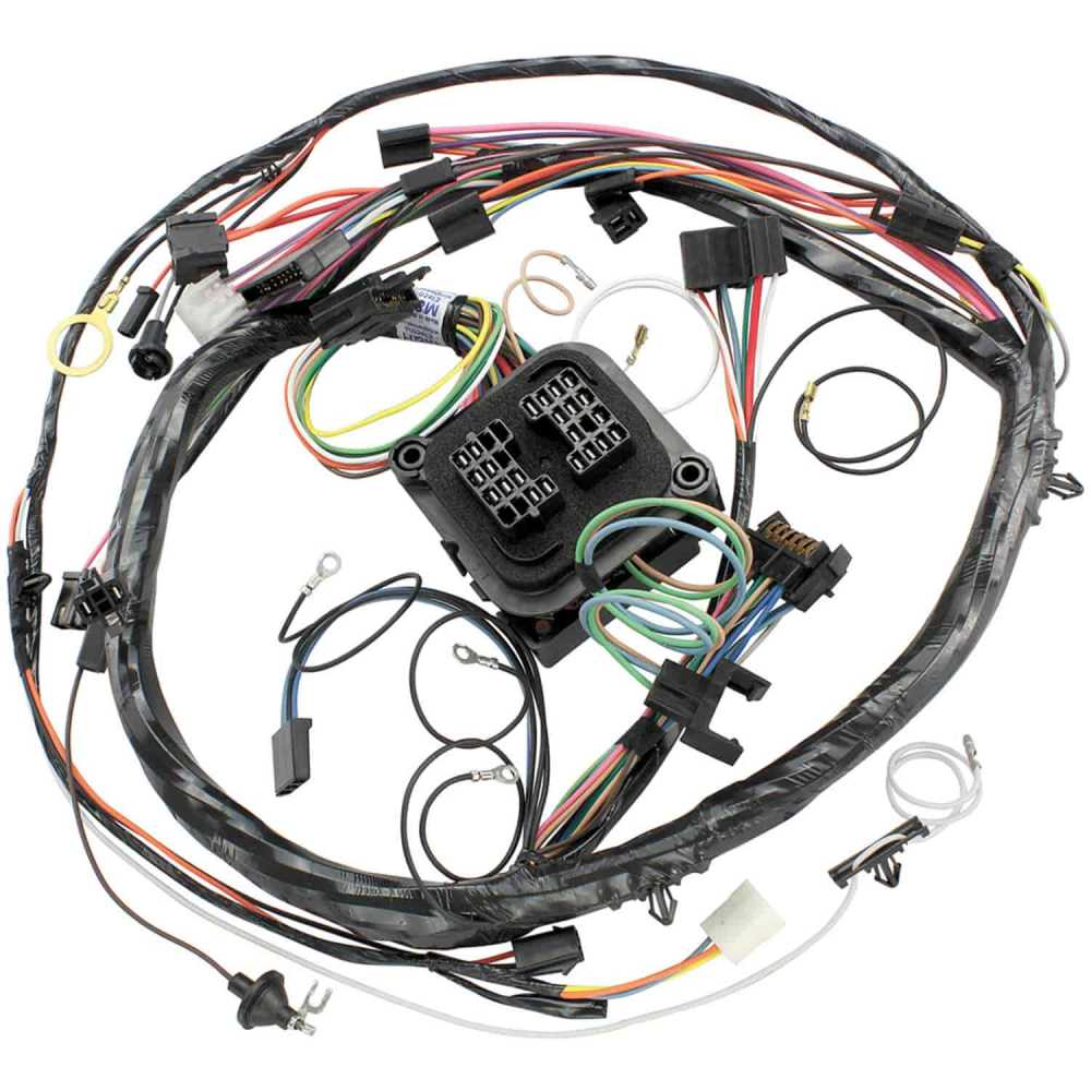 medium resolution of restoparts 15065 wiring harness dash 1970 chevelle el camino monte 1970 chevelle ss wiring harness