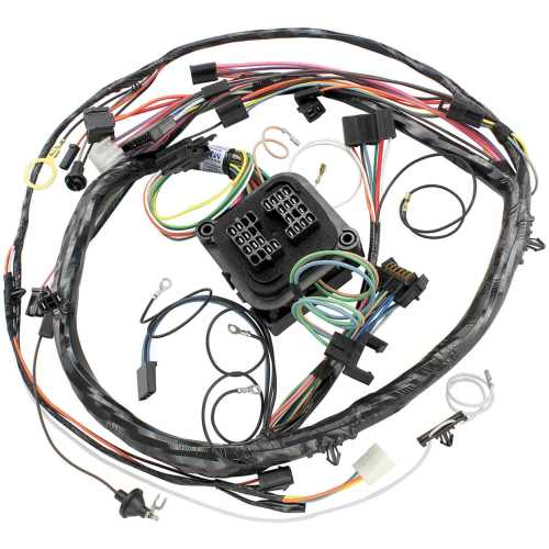 small resolution of restoparts 15065 wiring harness dash 1970 chevelle el camino monte 1970 chevelle ss wiring harness
