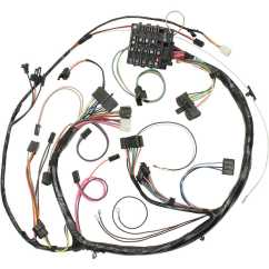 71 Chevelle Ss Dash Wiring Diagram For Ac Unit Capacitor 1971 Harness Great Installation Of Restoparts 15265 El Schematics Engine