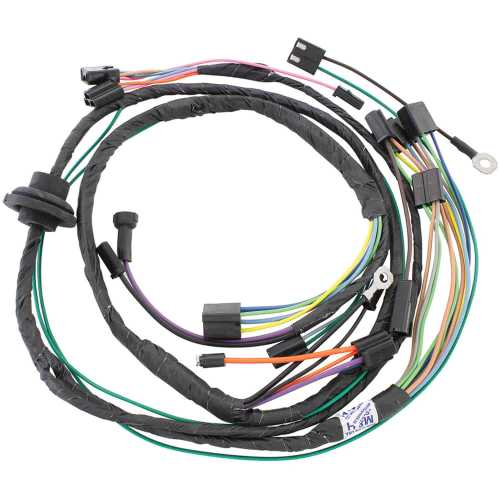 small resolution of restoparts wiring harness air conditioning 1971 chevelle el camino monte restoparts 15440