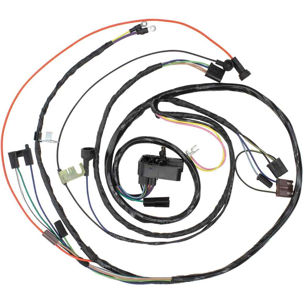 medium resolution of restoparts wiring harness engine 1971 chevelle el camino monte 454 man trans restoparts 17450