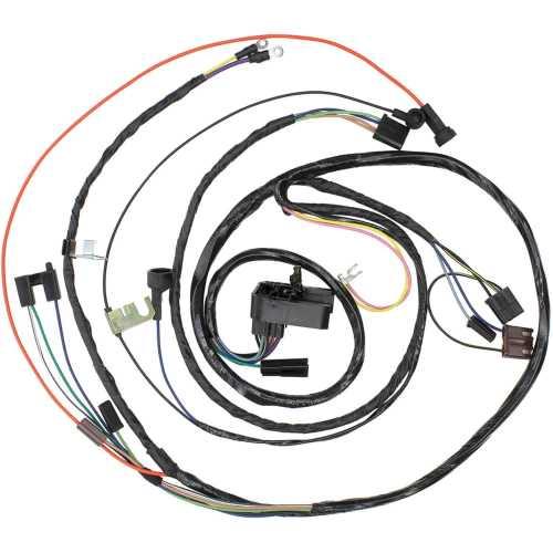 small resolution of restoparts wiring harness engine 1971 chevelle el camino monte 454 man trans restoparts 17450
