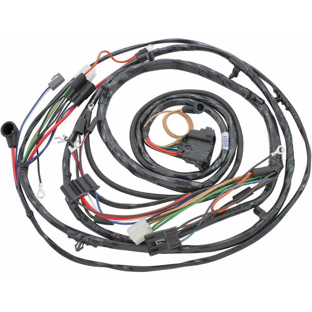 medium resolution of restoparts wiring harness forward lamp 1971 monte carlo gauges restoparts 17470