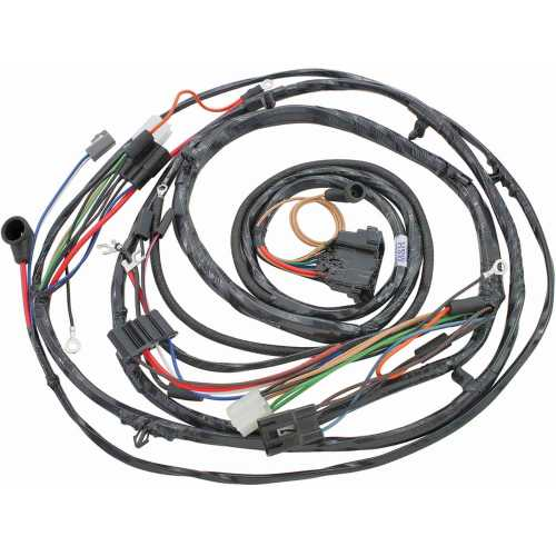 small resolution of restoparts wiring harness forward lamp 1971 monte carlo gauges restoparts 17470