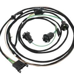 restoparts 17655 wiring harness rear light 1966 chevelle 1966 chevelle dash wiring diagram 1966 chevelle wiring harness diagrams [ 1500 x 1500 Pixel ]