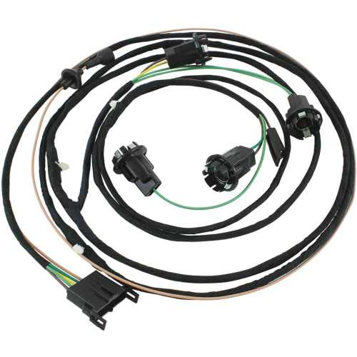 small resolution of restoparts 17655 wiring harness rear light 1966 chevelle 1966 chevelle dash wiring diagram 1966 chevelle wiring harness diagrams