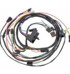 restoparts wiring harness engine 1971 chevelle el camino 454 hei auto trans restoparts 38975 [ 1500 x 1500 Pixel ]