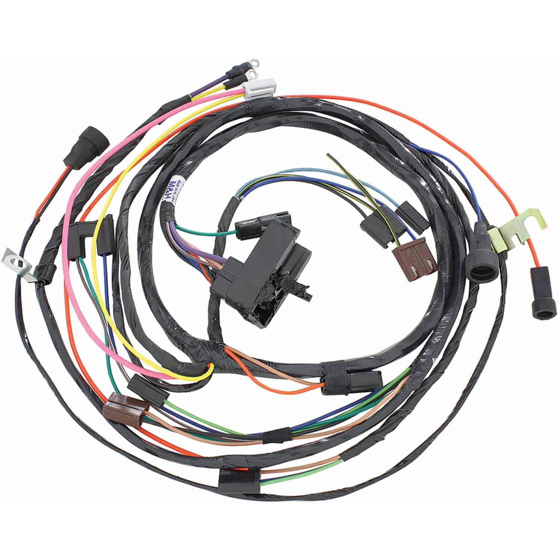 hight resolution of restoparts wiring harness engine 1971 chevelle el camino 454 hei auto trans restoparts 38975