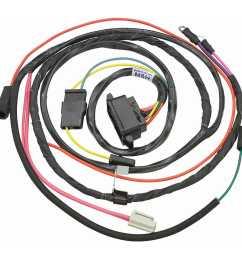 restoparts wiring harness engine 1966 chevelle el camino 327 shp hei gauges restoparts 39040 [ 1500 x 1500 Pixel ]