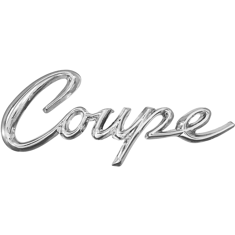 RestoParts CE08551: Emblem 1963-64 Cadillac Coupe Quarter