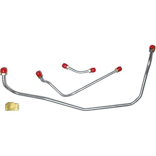 RESTOPARTS GL0160A: Fuel Line Fuel Pump to Carburetor 1970