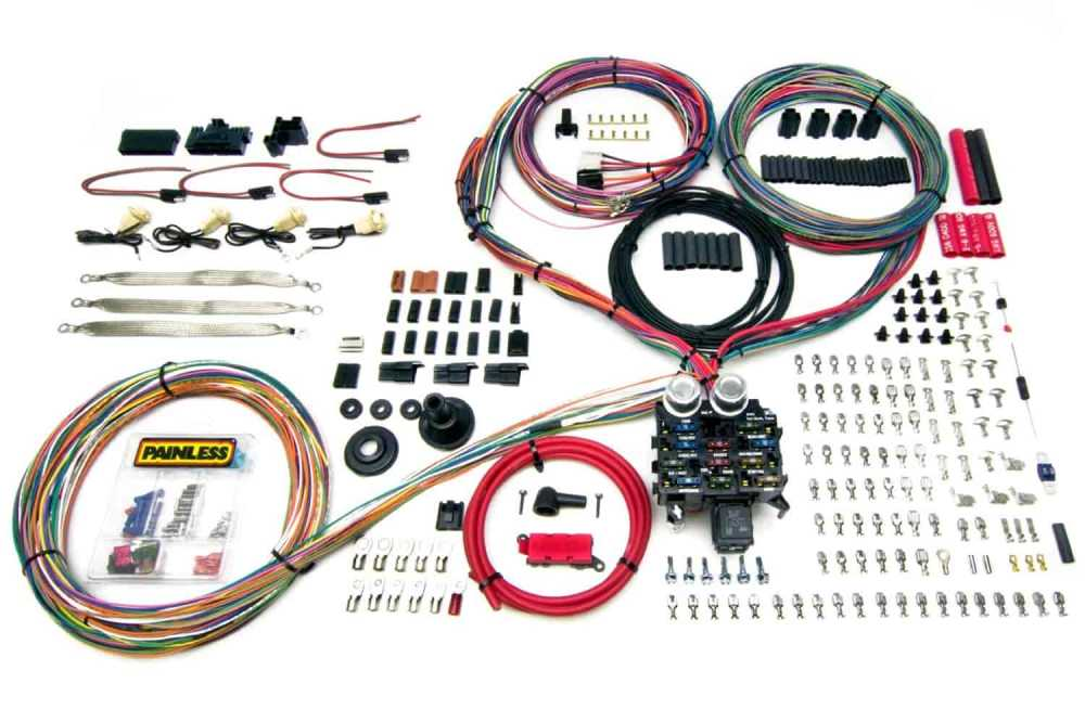 medium resolution of painless performance products 10401 pro series 23 circuit wiring painless wiring harness kit
