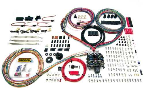 small resolution of painless performance products 10401 pro series 23 circuit wiring painless wiring harness kit