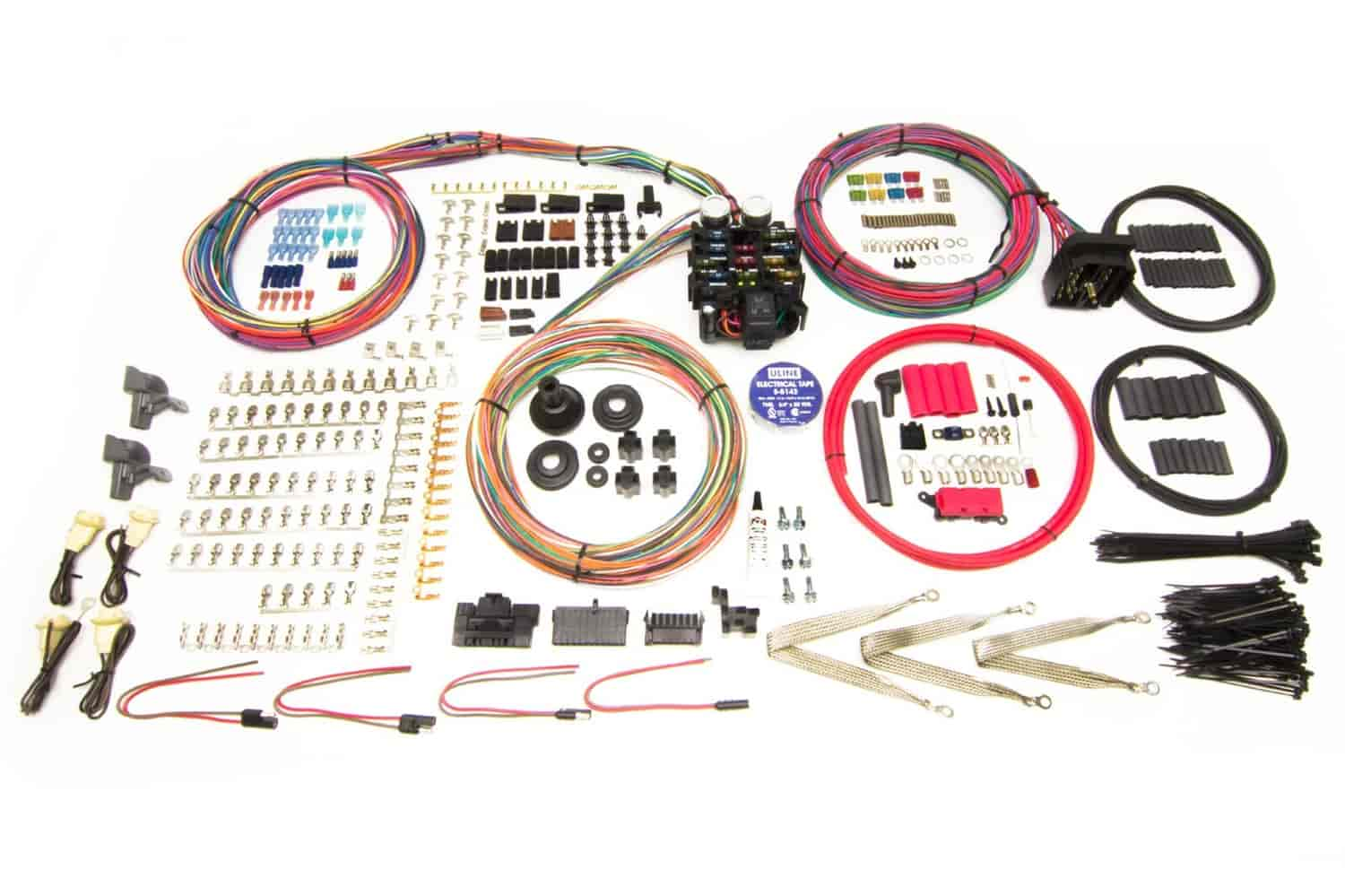 hight resolution of painless performance products pro series 23 circuit wiring harness kit
