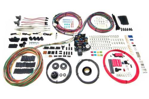 small resolution of painless performance products pro series 25 circuit wiring harness kit