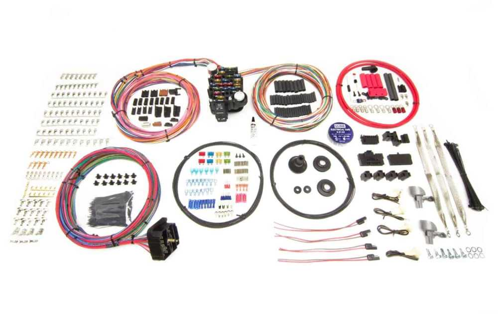 medium resolution of painless performance products pro series 25 circuit wiring harness kit