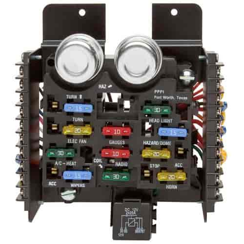 Painless Wiring 30001 Fuse Block 12circuit Universal Kit