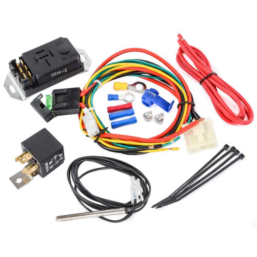 medium resolution of proform 69599 adjustable electric fan controller kit with push in proform electric fan wiring diagram