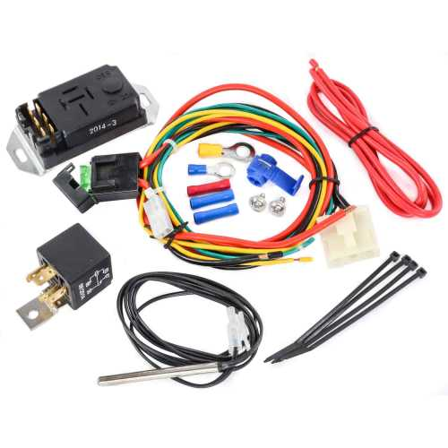 small resolution of proform 69599 adjustable electric fan controller kit with push in proform electric fan wiring diagram