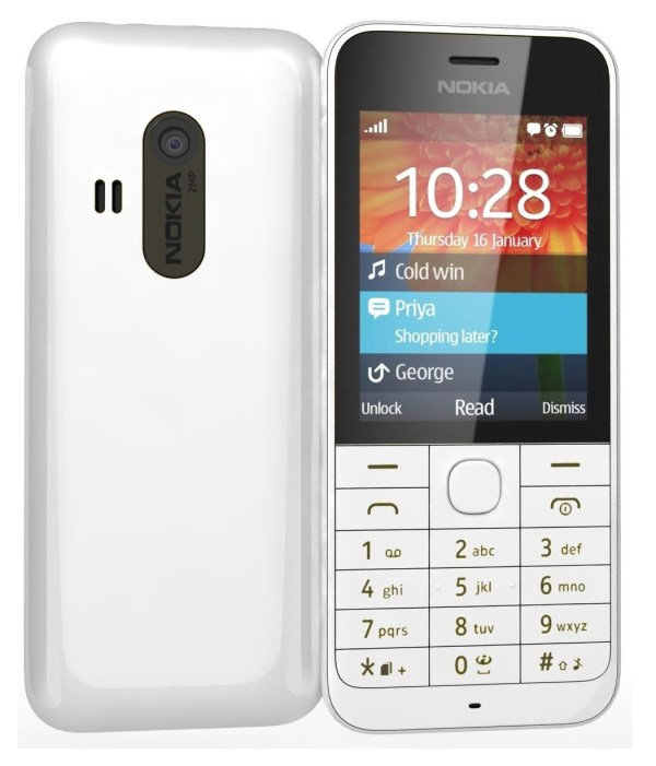 NEW Nokia 220 RM 971 Unlocked GSM Dual Band Cell Phone W