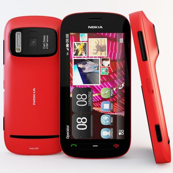 New Nokia 808 PureView 16GB Unlocked GSM 41MP Carl Ziess