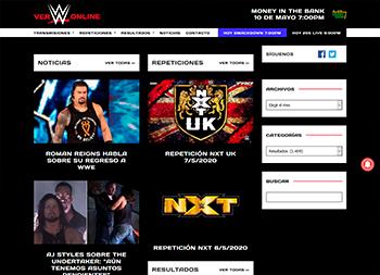 Ver WWE Online