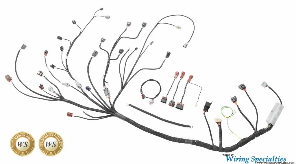Wiring Specialties S14 SR20DET Roadster Wiring Harness