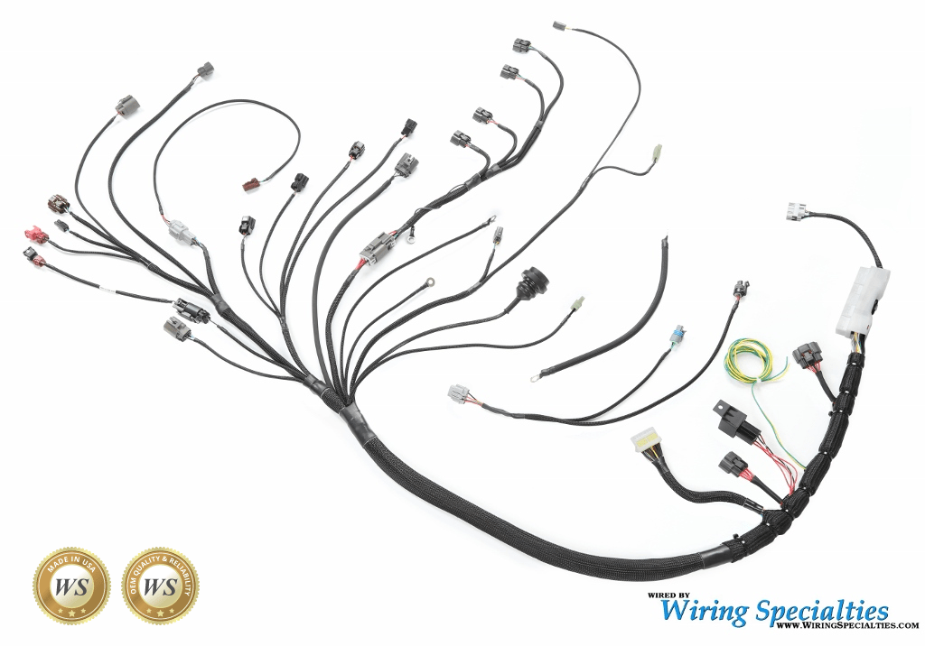 Wiring Specialties SR20DE S13 200sx Wiring Harness
