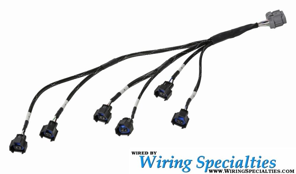 medium resolution of wiring specialties z32 vg30de tt denso style injector sub harness